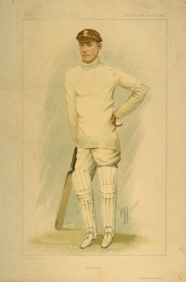"""Test Cricket"" (Mr. John Berry Hobbs), Men of the Day No. 2283, from Vanity Fair Supplement"