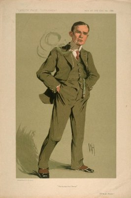 """The Yankee from Persia"" (Mr. Morgan Shuster), Men of the Day No. 1320, from Vanity Fair Supplement"