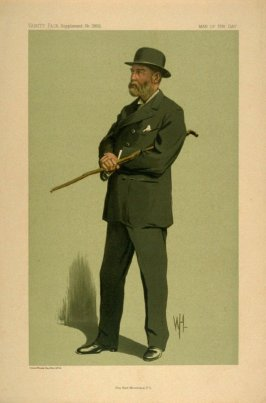 The Earl Brownlow, P.C., Men of the Day No. 2305, from Vanity Fair Supplement