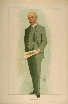 """a Master Craftsman"" (Mr. F. Vincent Brooks), Men of the Day No. 2290, from Vanity Fair Supplement"