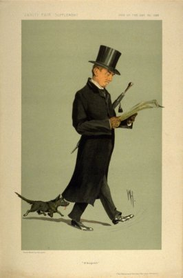 """St. Margaret's"" (The Reverend Herbert Hensley Henson), Men of the Day No. 1328, from Vanity Fair Supplement"