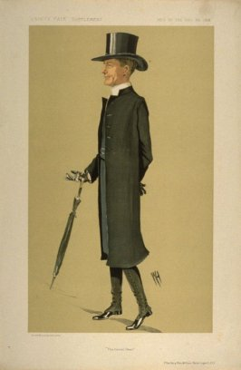"""The Genial Dean"" (The Very Rev. William Ralph Inge.D.D.), Men of the Day No. 1316, from Vanity Fair Supplement"