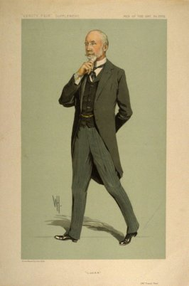 """L. and N.W."" (Mr. Frank Ree), Men of the Day No. 2275, from Vanity Fair Supplement"