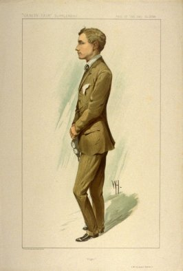 """Flight"" (Mr. Gustave Hamel), Men of the Day No. 2283, from Vanity Fair Supplement"