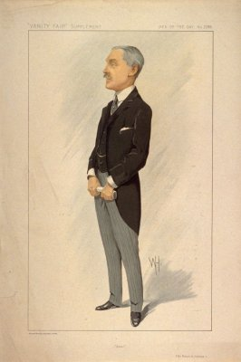 """Steel"" (Sir Robert A. Hadfield), Men of the Day No. 2288, from Vanity Fair Supplement"