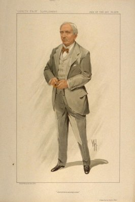 """steered three winning crews."" (John Corrie Carter, Esq.), Men of the Day No. 2279, from Vanity Fair Supplement"