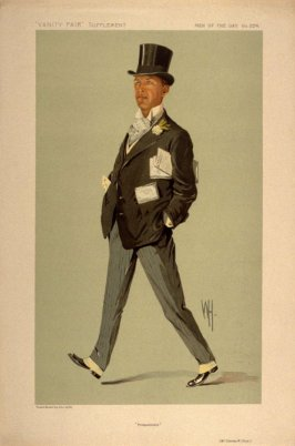 """Prospectuses"" (Mr. Charles W. Coop), Men of the Day No. 2274, from Vanity Fair Supplement"