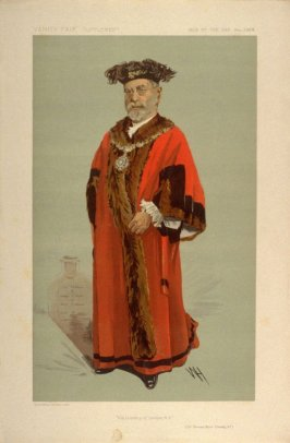 """His Lordship of London, M.D."" (Sir Thomas Boor Crosby, Kt.), Men of the Day No. 1304, from Vanity Fair Supplement"