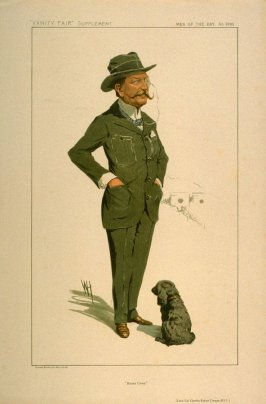 """Bisley Camp."" (Lieut. Col. Charles Robert Crosse, M.V.O.), Men of the Day No. 2280, from Vanity Fair Supplement"