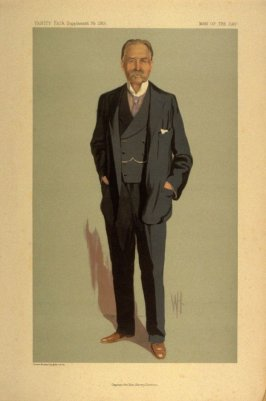Captain the Hon. Henry Denison, Man of the Day No. 2301, from Vanity Fair Supplement