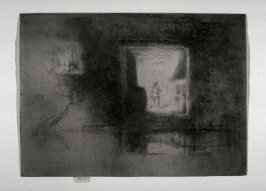 Nocturne: Furnace, from the portfolio A Set of Twenty-six Etchings (London: Dowdeswell and Dowdeswell, 1886)