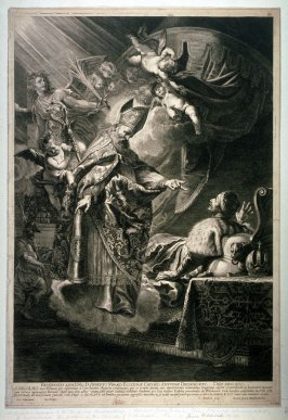 St. Nicolas appearing to the Emperor Constantine