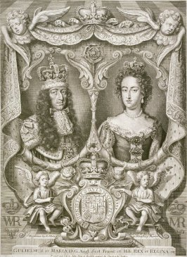 Portrait of King William and Queen Mary