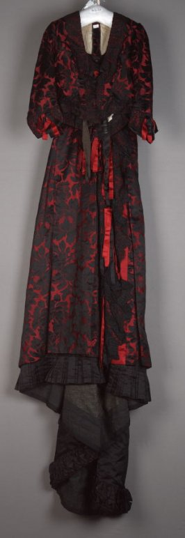 Woman's dress: bodice and skirt