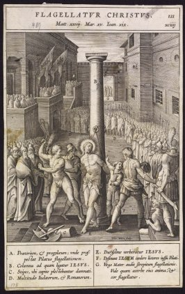 The Flagellation, plate 121 from P. Jeronimo Nadal, Evangelicae Historiea Imagines (Antwerp, 1593)