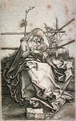 Copy of Dürer's Virgin and Child on a Grassy Bench