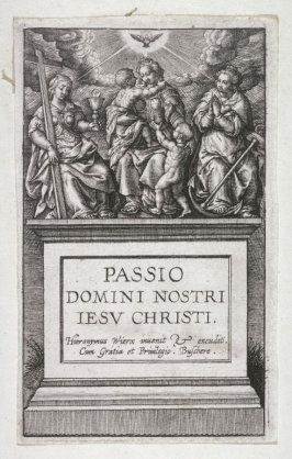 Title page: The Passion of Christ