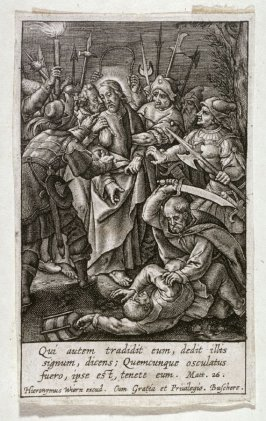 The Passion of Christ: Christ taken by soldiers