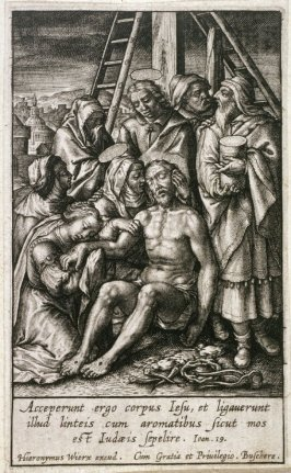 The Passion of Christ: Christ Crowned with Thorns [wrong image]