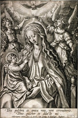Tota pulchra es amica mea... (Crowning of the Virgin)