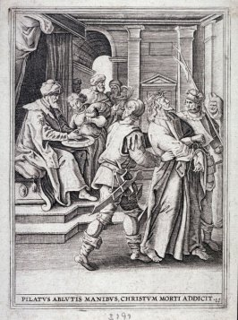 Pilate Washing his Hands, from a series of The Passion