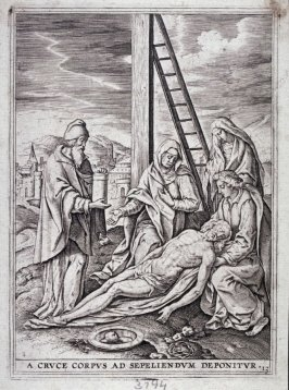 The Descent from the Cross, from a series of The Passion