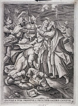 Christ Attacked by the Soldiers, from a series of The Passion