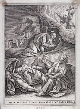 Christ on the Mount of Olives, from a series of The Passion