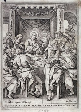 The Last Supper, from a series of The Passion