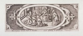 Miniature plate of Life of the Virgin (Plate 1)