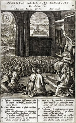 One of 17 Engravings out of the Evangelica Historias Inagiica [Dominica XXIIII...]