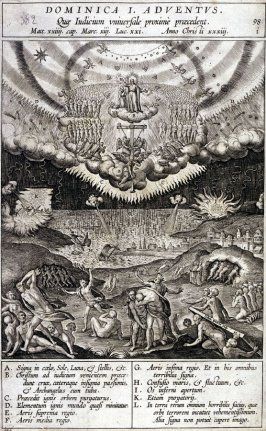 One of 17 Engravings out of the Evangelica Historias Inagiica [Dominica I Adventus...]