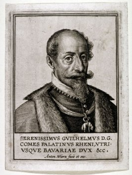 Portrait of William D.G. Palatin of the Rhein and Bavaria