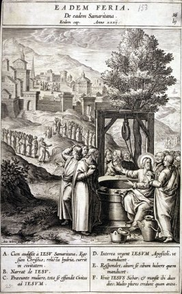 Christ and the Apostles, plate 36 from P. Jeronimo Nadal, Evangelicae Historiea Imagines (Antwerp, 1593)