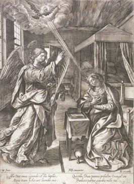 The Annunciation to St. Mary
