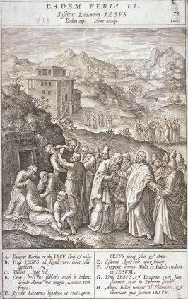 One of 17 Engravings out of the Evangelica Historias Inagiica [Eadem Feria VI...]