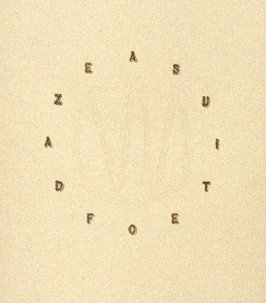 Title page, A Suite of Daze ([Chicago: Landfall Press, 1977])