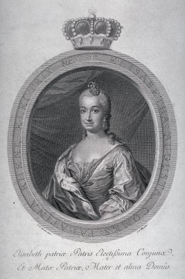 Portrait of Elisabeth, Elector of the Rhineland