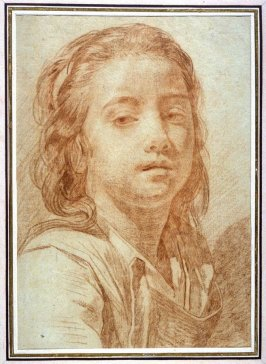 Bust view of a Young Girl