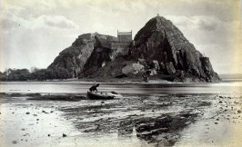 Dumbarton Rock from the West