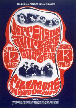 Jefferson Airplane, Grateful Dead, August 12 & 13, Fillmore Auditorium