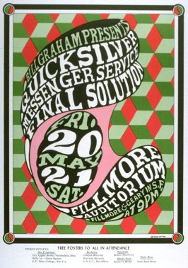 Quicksilver Messenger Service, Final Solution, May 20 & 21, Fillmore Auditorium