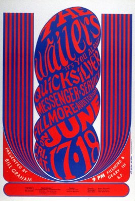 Wailers, Quicksilver Messenger Service, June 17 & 18, Fillmore Auditorium