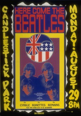 San Francisco Rock Poster: Bill Graham Presents: Final Concert Appearance: The Beatles