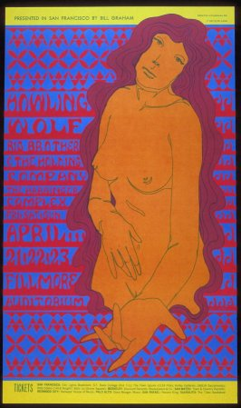 Howlin' Wolf, Big Brother & the Holding Company, Harbinger Complex, April 21 - 23, Fillmore Auditorium