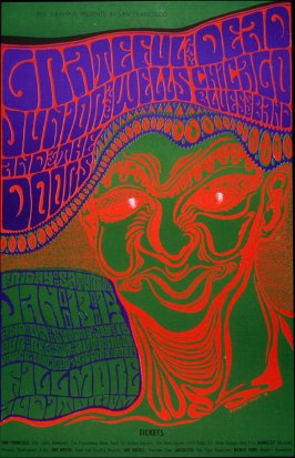 Grateful Dead, Junior Wells Chicago Blues Band, Doors, January 13 - 15, Fillmore Auditorium