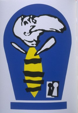 """Bee"" in the book Bestiary by Bradford Morrow (New York: Grenfell Press, 1990)."