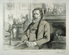 Celebrities of the Day - Mr. John Ruskin