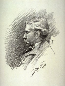 Joseph Pennell, sixteenth plate from the portfolio Sketches Made on the Lithography Night, 14 April 1905 by Members of the Art Workers Guild, Clifford Inn Hall and Published for the Benefit of the Chest