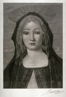 Madonna by Botticelli